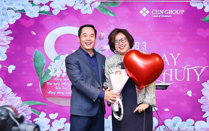 Anh Nguyễn Trung Vũ - Chủ tích Cengroup cũng tham gia tổ chức sự kiện