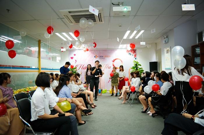 Văn phòng Cen Miền Nam tổ chức mùng 8-3