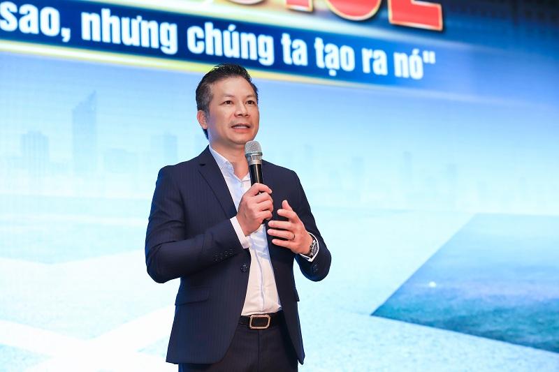 Anh Phạm Thanh Hưng – Phó chủ tịch HĐQT CenGroup – Chủ tịch CenHomes chia sẻ tại hội nghị