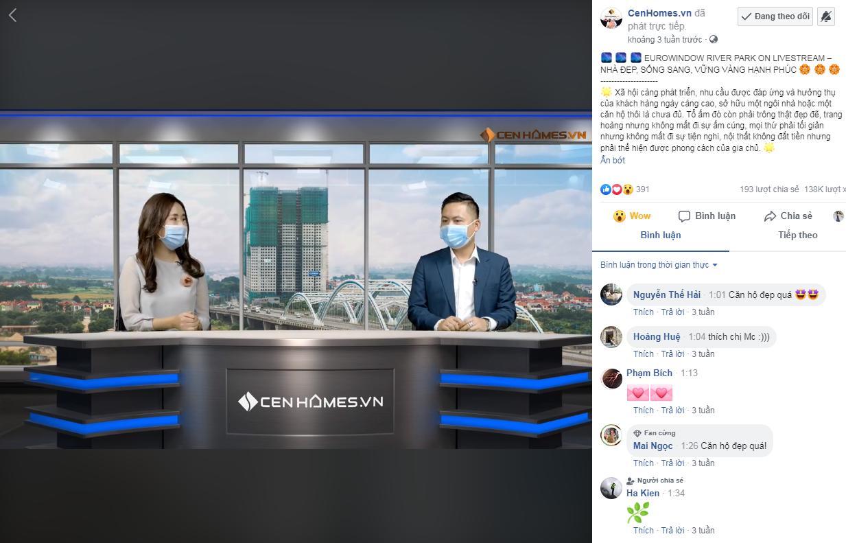 CenHomes Livestream