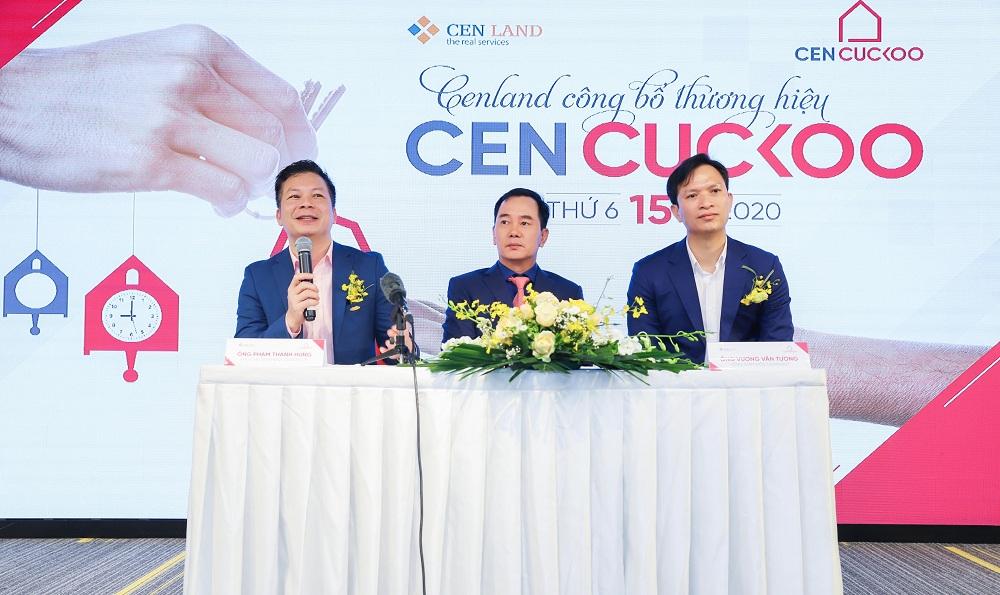 Ngày 15/5/2020, CenLand công bố thương hiệu Cen Cuckoo