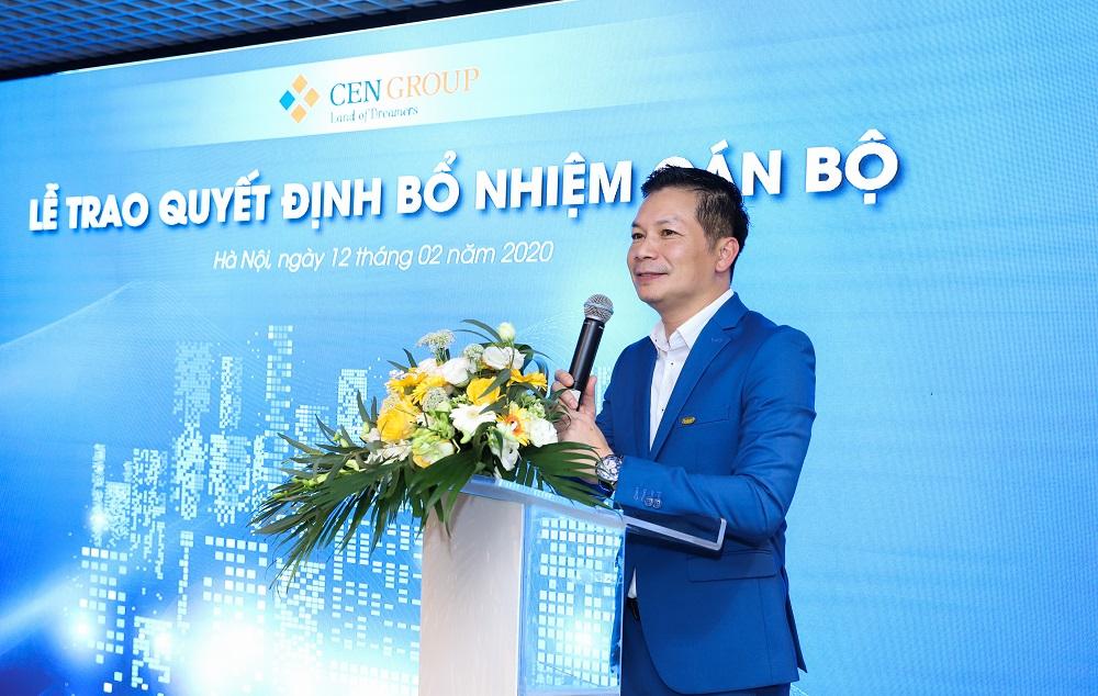 Ông Phạm Thanh hưng- Phó chủ tịch HĐQT CenGroup chia sẻ
