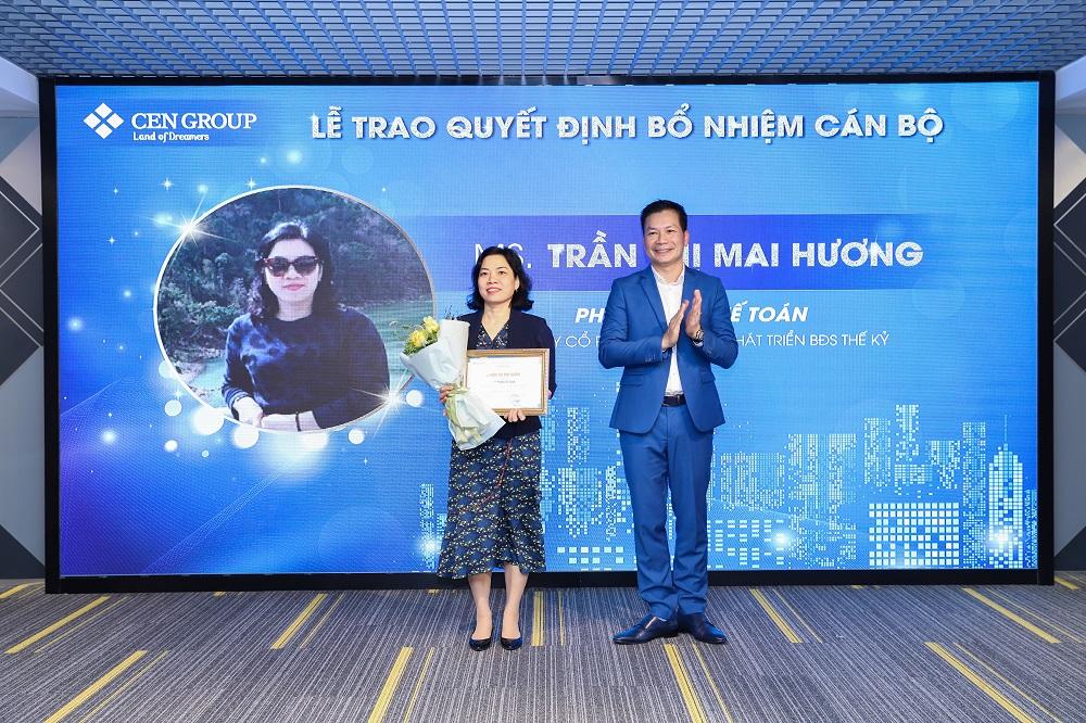 Bổ nhiệm chị Trần Thị Mai Hương