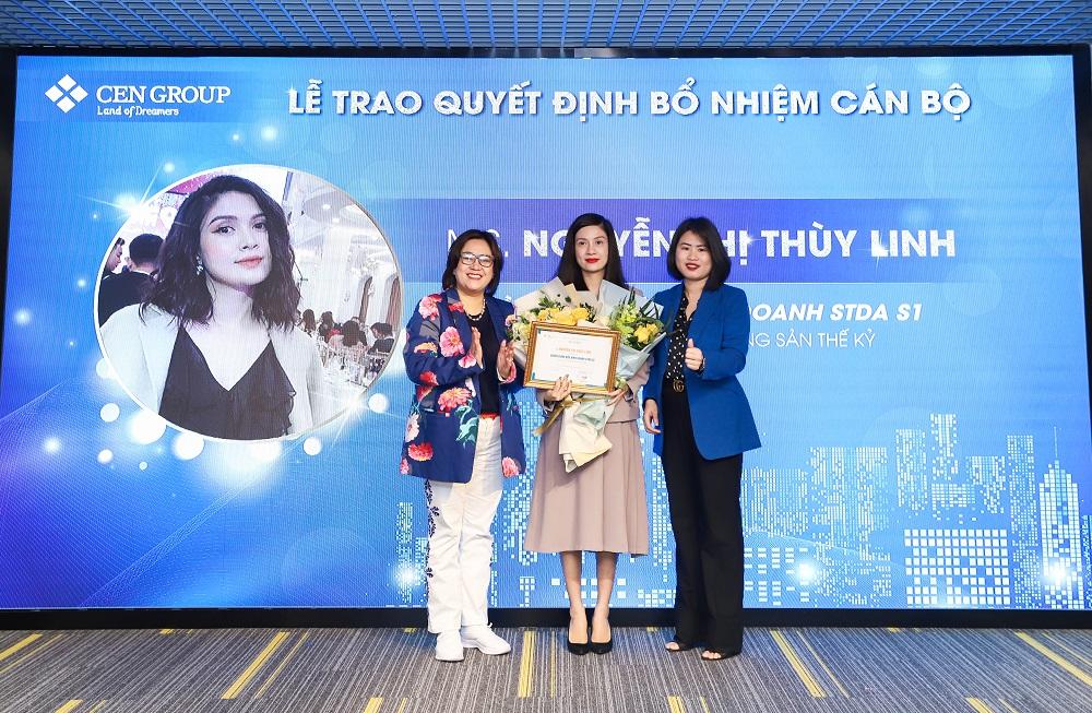 Bổ nhiệm chị Nguyễn Thị Thùy Linh